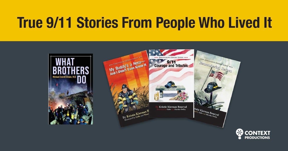 BOOKS are the way to NEVER FORGET – 9/11 Stories Based on Real Events & People